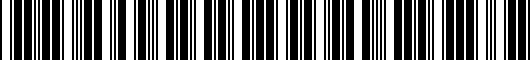Barcode for PT94448160AC